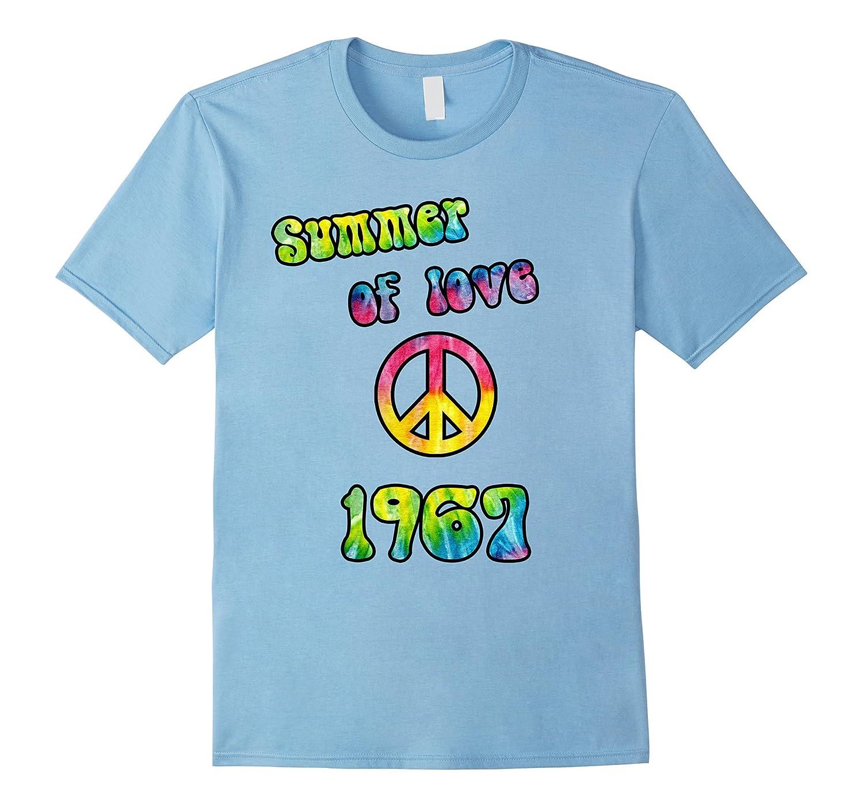 50th Anniversary, 1967 Summer of Love Hippie Peace T-Shirt-Art