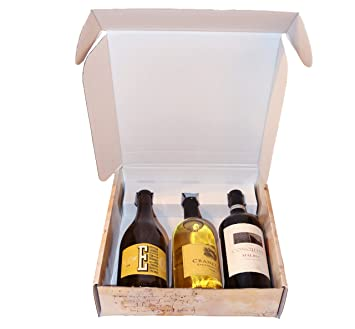 Amazon Com Italian Wine Gift Box Three Bottle Designer Health