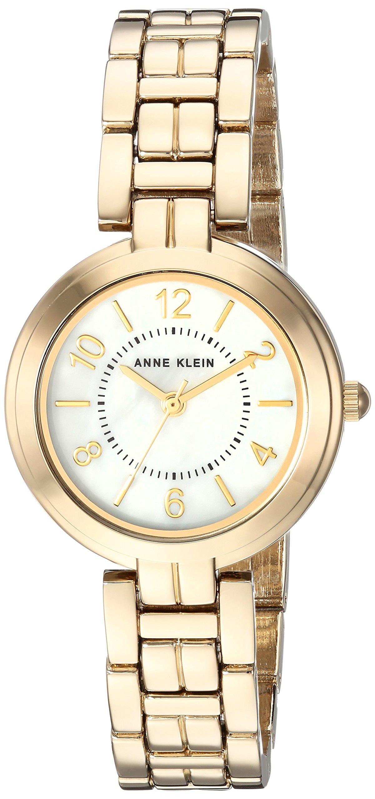 Anne Klein Women's  Gold-Tone Bracelet Watch by Anne Klein