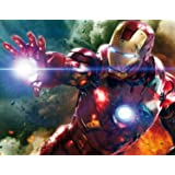 Ironman The Avengers Edible Image Photo Sugar Frosting Icing Cake Topper Sheet Birthday Party