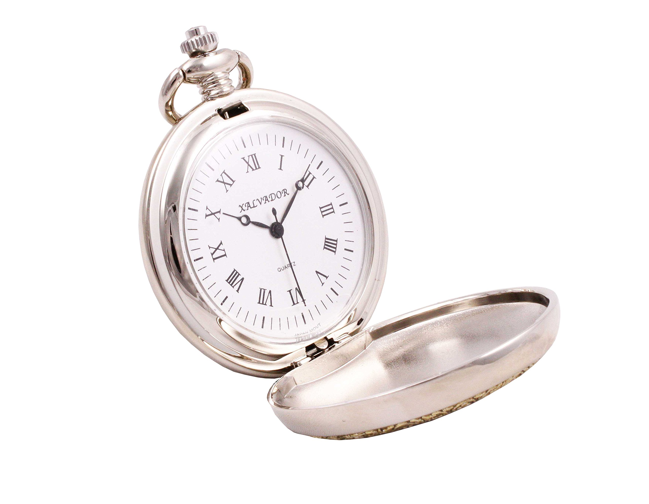 Shoppewatch Pocket Watch Doctor Medical Symbol with Chain Quartz Steampunk Cosplay PW-95 4