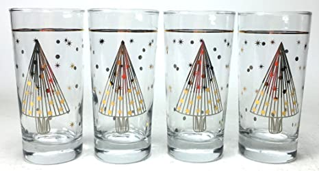 Christmas Tree Not Taking Water.Circleware 76937 C Christmas Tree Decal Highball Tumbler Drinking Glasses Set Of 4 Beverage Glassware Home Kitchen Entertainment Ice Tea Cups For