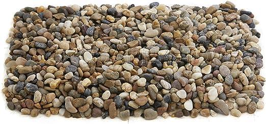 Quarrystore Gemelos de colores variados Tamaño aproximado de 10 mm, ideal para exteriores, piedras decorativas para jardines y proyectos de manualidades, bolsa de 5 kg: Amazon.es: Jardín