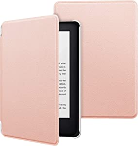 MoKo Case Fits All-New Kindle (10th Generation - 2019 Release Only), Ultra Lightweight Shell Cover with Auto Wake/Sleep, Will Not Fit Kindle Paperwhite 10th Generation 2018 - Rose Gold