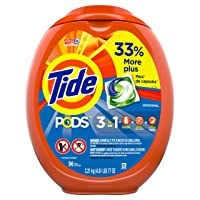 Deals on 96-CT Tide PODS Laundry Detergent Liquid Pacs Original Scent