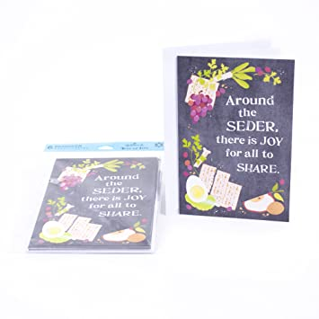 Amazon hallmark tree of life passover greeting cards hallmark tree of life passover greeting cards assortment 6 cards and 6 envelopes pesach m4hsunfo
