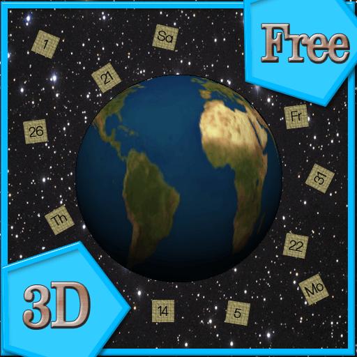 Amazon.com: 3D Calendar (Free) Live Wallpaper: Appstore