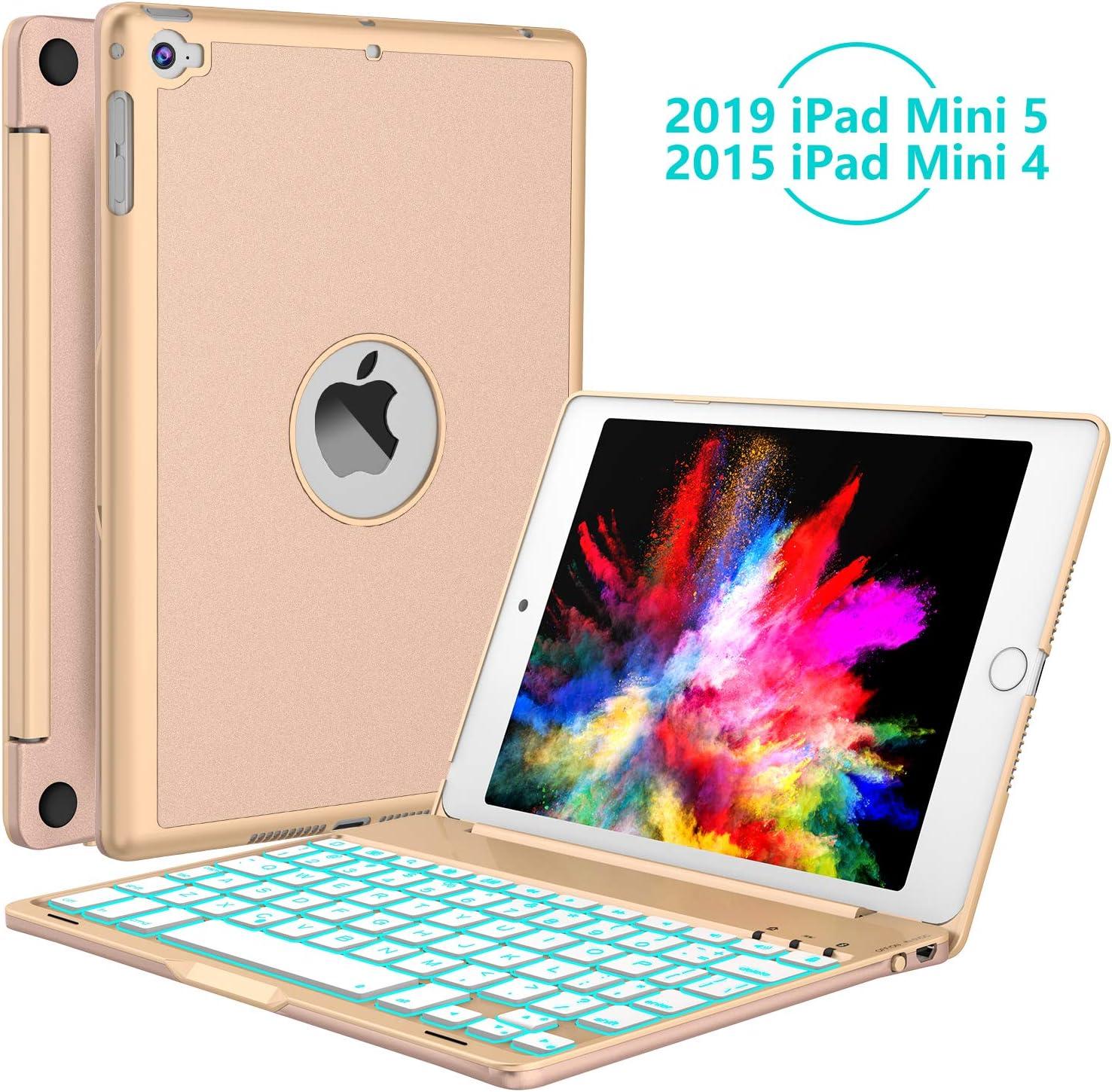 Funda con teclado para iPad Mini 5ta Generacion 2019...-2VCF