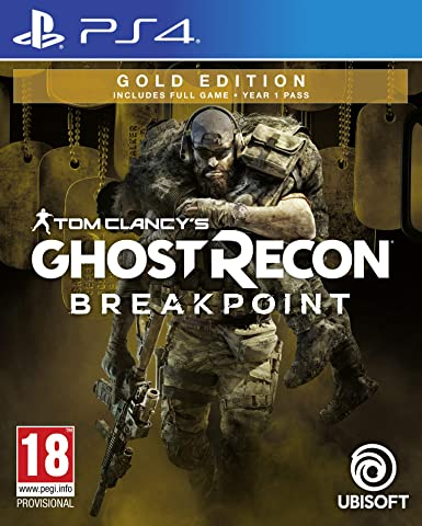 Tom Clancys Ghost Recon Breakpoint Gold Edition - PlayStation 4 ...