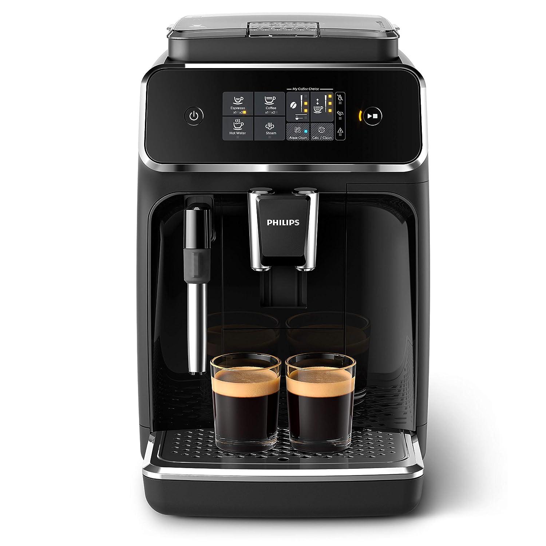 Philips EP2220//10 Machine Espresso automatique  S/éries 2200 Mousseur /à Lait Noir Mat