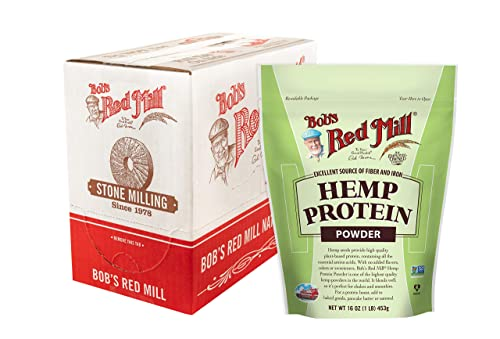 Bob s Red Mill Hemp Protein Powder, 16-ounce Pack of 4