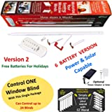 EzWand Blinds Single Package - Automate Motorize your Horizontal and Vertical blinds simply by replacing the Wand, Control up to 24 blinds, wand replacement, EZ Wand, Easy Wand - will Control 1 Blind.