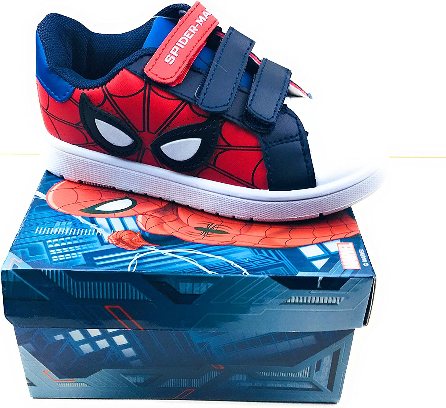 Spiderman Boys' Trainers Blue Size: 11