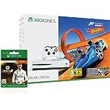 Xbox One S 500GB Konsole - Forza Horizon 3 Hot Wheels Bundle inkl. FIFA 18 Ronaldo Edition als Downloadcode