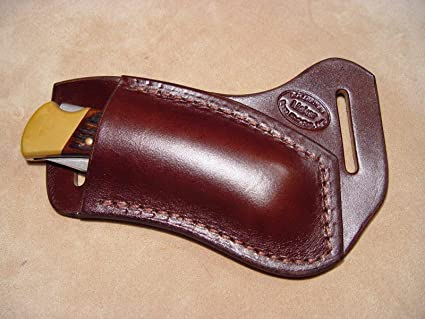 Amazon.com: Custom crossdraw vaina de piel para Buck 110/112 ...