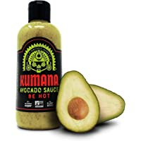 Kumana Avocado Hot Sauce. A Keto Friendly Hot Sauce made with Ripe Avocados, Mango and Habanero Peppers. Ketogenic & Paleo. Gluten Free, No Added Sugar & Low Carb. 13.1 Ounce Bottle.
