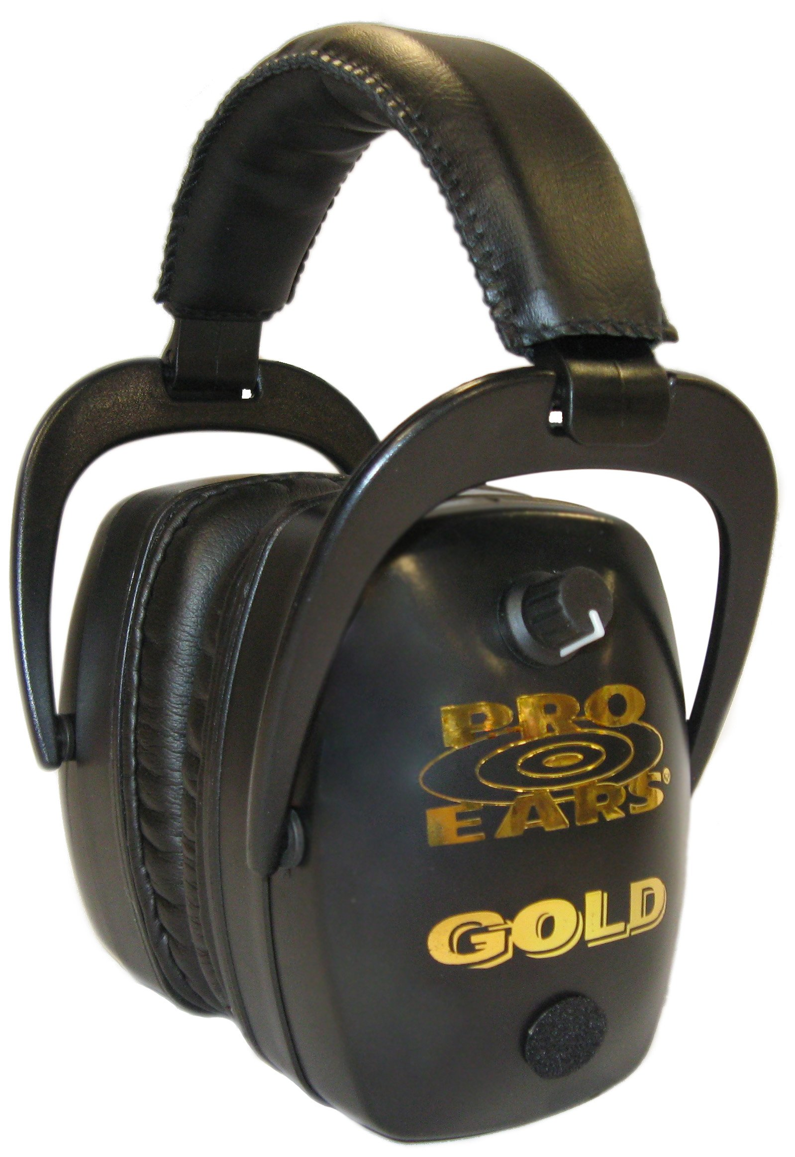 Pro Ears Pro Mag Gold Hearing Protection and Amplification Ear Muffs, Black