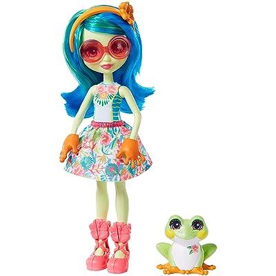 Enchantimals - Muñeca Tamika Tree Frog con Mascota Burst (Mattel GFN43): Juguetes y juegos