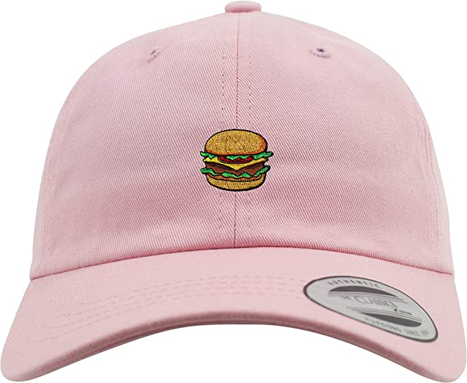 New Flexfit Basecap  Burger - Hamburguesa - Gorra de béisbol - Bordado -  Low Profile - Gorro-s Cocinero - Emoji Cap - Gorra-s USA - Tapa - Snapback  - USA ... 96c906e970f