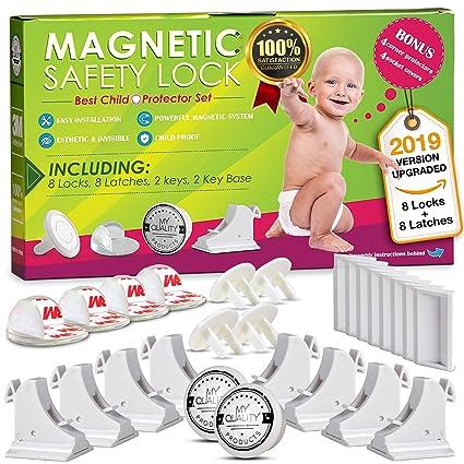 Amazon.com: Cierre de seguridad invisible magnético sin ...