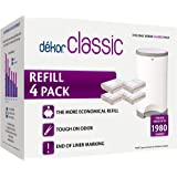Dekor Classic Diaper Pail Refills   Most Economical Refill System   Quick & Easy to Replace   No Preset Bag Size – Use…