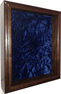 product image for All American Gifts Single or Double Medal Awards Display Case (Blue Velvet)