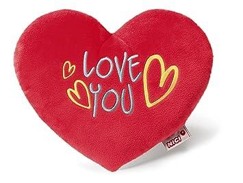 NICI - Love cojín en Forma de corazón, 25 cm (40196.0 ...