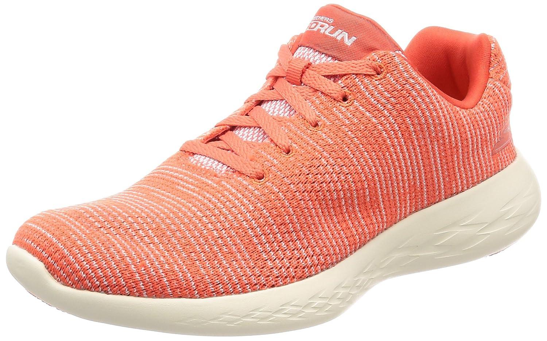 Coral Skechers Women's GO Run 600 - Obtain Sneakers