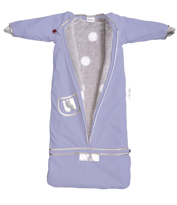 Puckababy PBGLG The Bag lila l/ängenverstellbar grau 4 Jahreszeiten Schlafsack