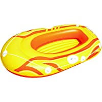 Bestway Tidal Wave Canotto Hydro-Force, Blu/Rosso / Giallo
