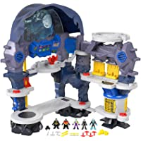 Fisher-Price Imaginext DC Super Friends Super Surround Batcave – English Edition, Interactive Batman playset with Lights…