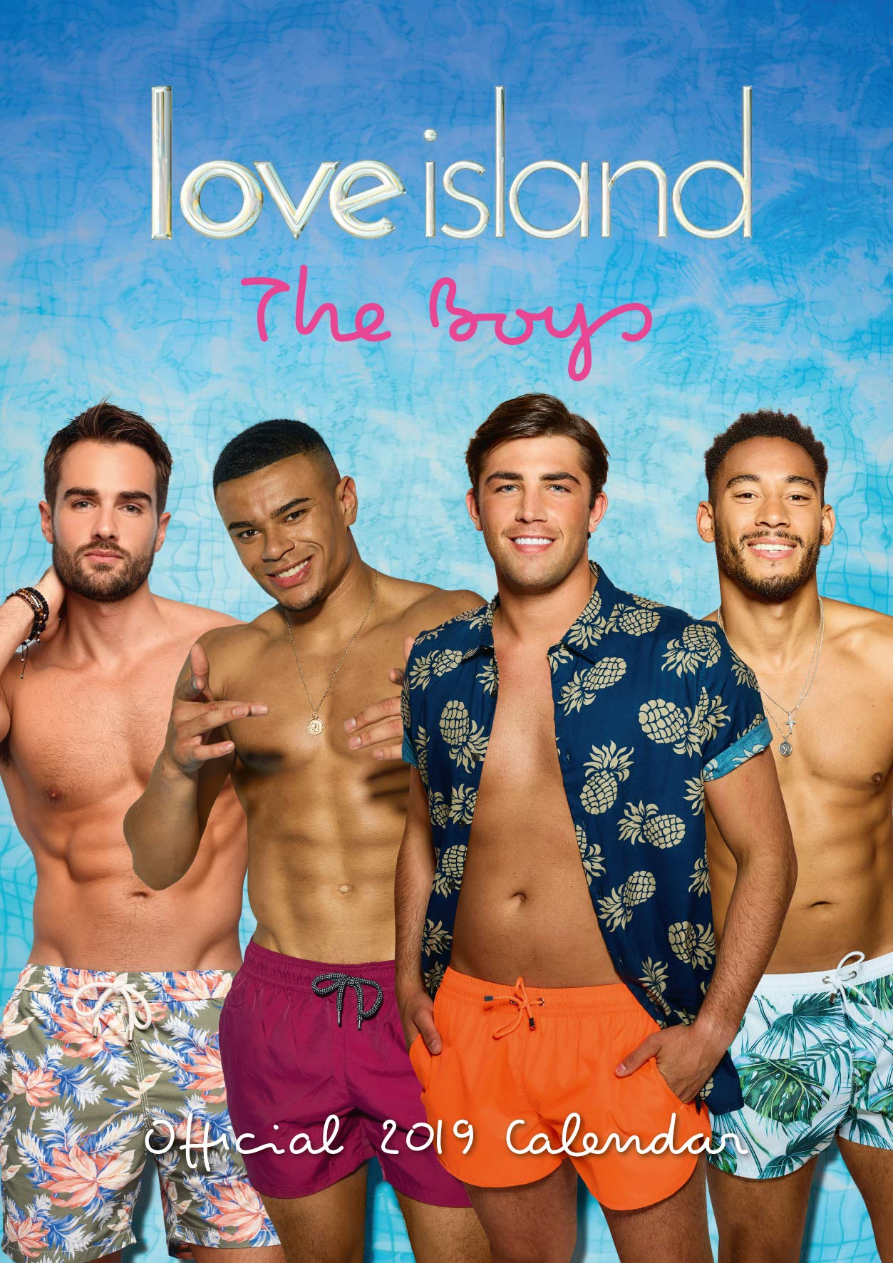 Love Island Boys Official 2019 Calendar A3 Wall Calendar 9781785498145 Amazon Com Books To the highest highs, here are your season 4 islanders in all their glory. carousel calendars