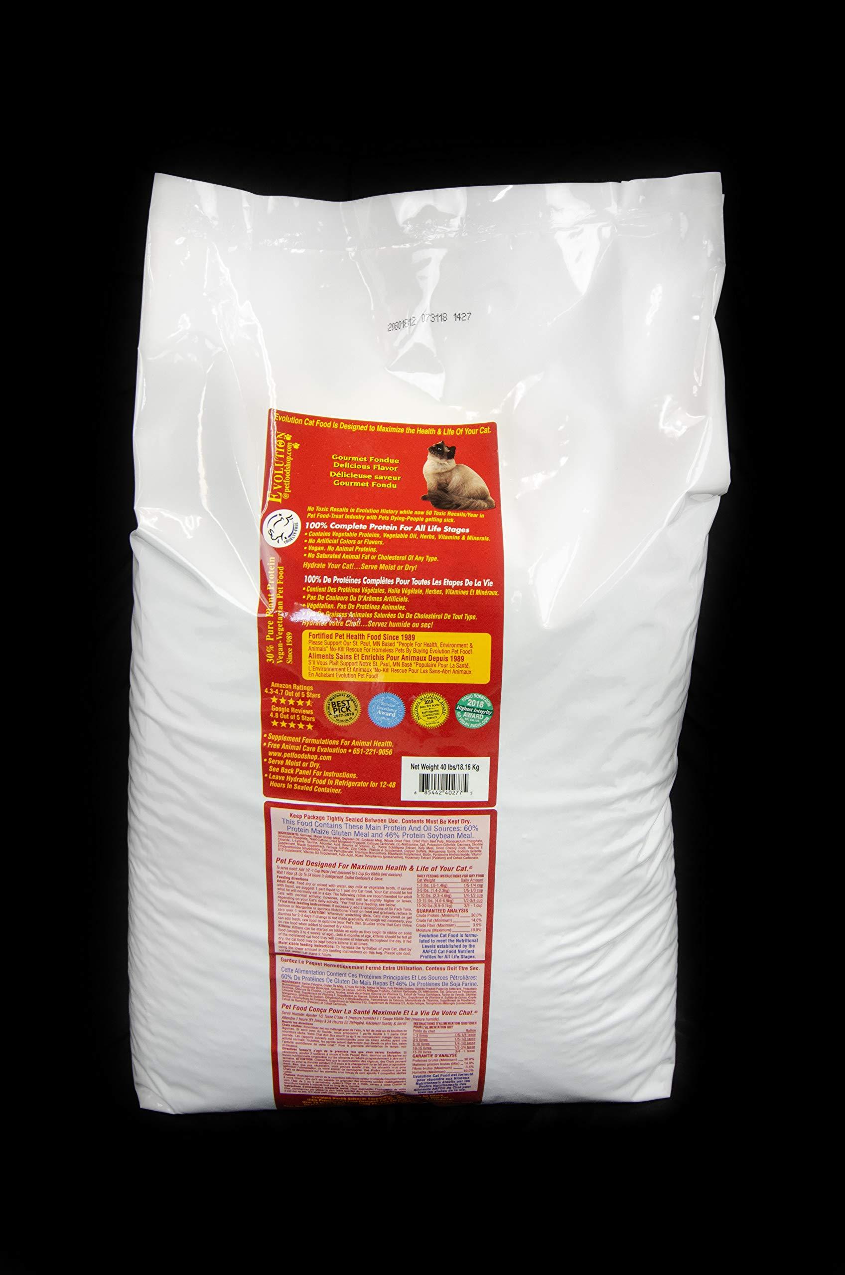 Evolution Diet Gourmet Fondue Cat Food 40 lb Bag by Evolution Diet