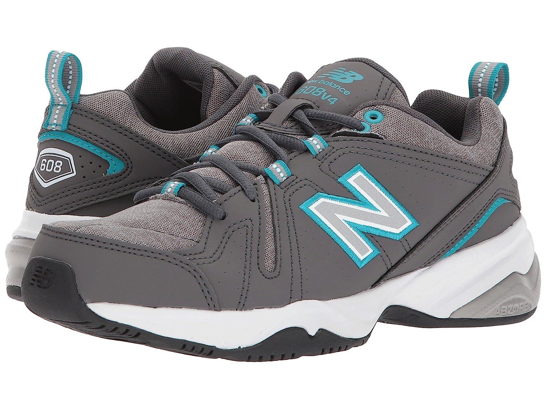 【激安大特価!】  (ニューバランス) New Balance レディーストレーニング競技用シューズ靴 WX608v4 D B078FZ5CGV Gray Wide/Blue 5 (22cm) D - Wide B078FZ5CGV, 車力村:71bad9d3 --- tradein29.ru