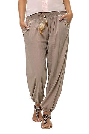 perfekte Qualität verkauf usa online Super Qualität Hachiro Damen Hose Sommerhose Freizeithose Strandhose