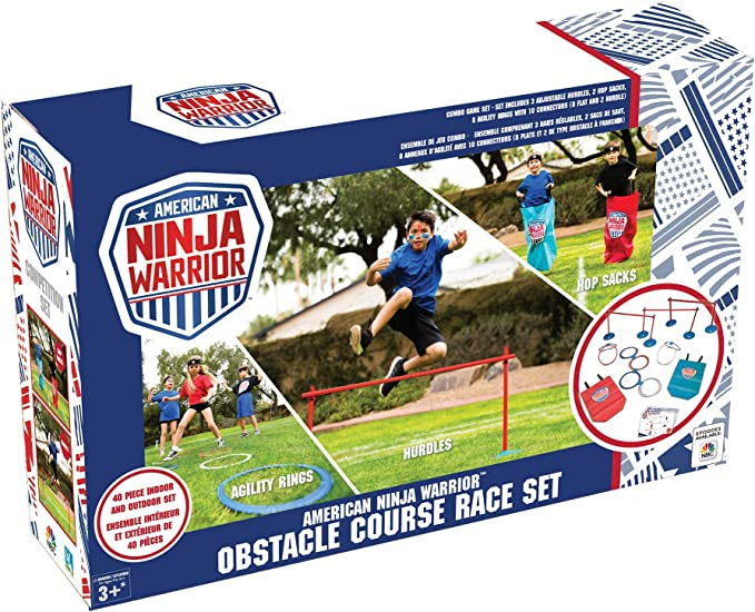 American Ninja Warrior Competition Set 40 pcs Outdoor Fun Toy B4 Adventure 145