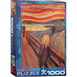 EuroGraphics The Scream by Edvard Munch Puzzle (1000-Piece)