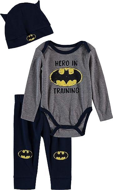 Batman Justice League DC Comic Infant Baby Toddler Girls Creeper Bodysuit