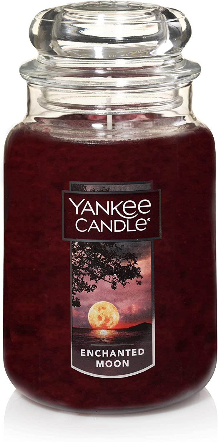 Yankee Candle Large Jar Scented Candle, Enchanted Moon