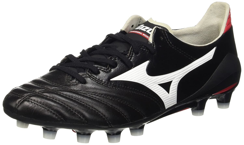 Mizuno靴Soccer Football Man Morelia Neo MD B01HMNMYGUブラック/ホワイト/レッド US 10.5 CM 28.5