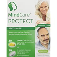 MindCare PROTECT Memory Supplement with Omega-3, Alpha Lipoic Acid & Vitamins
