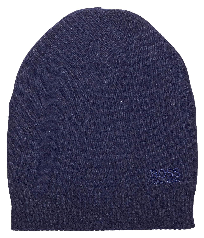a63d895cca0c BOSS - Bonnet Homme - Bleu - Taille Unique  Amazon.fr  Vêtements et  accessoires