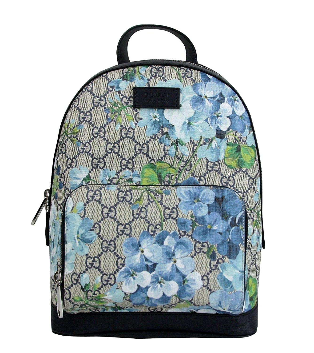d7bdb34845af0b Amazon.com: Gucci Unisex Beige/Blue Bloom GG Coated Canvas Small Backpack  with Box 427042 8493: Clothing