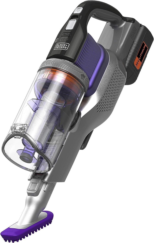 BHFEV362DP-QW Aspirador de Escoba 4en1 Power Series Extreme Especial para Mascotas con bater/ía Externa 36V 2Ah.3 velocidades y 78min de autonom/ía.