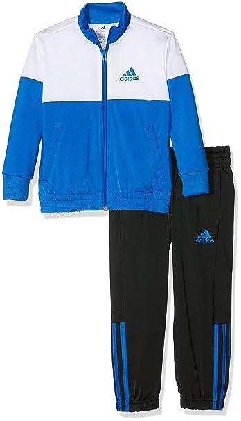 ADIDAS, ANZUG, Blau schwarz, Größe 152, Jungen