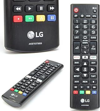 LG Mando Original Universal AKB75375608 para Cualquier TV: Amazon.es: Electrónica
