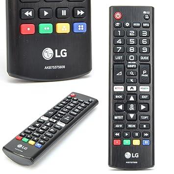 Tidsmæssigt Original LG TV Remote Control AKB75375608 - for Most: Amazon.co.uk OC-58