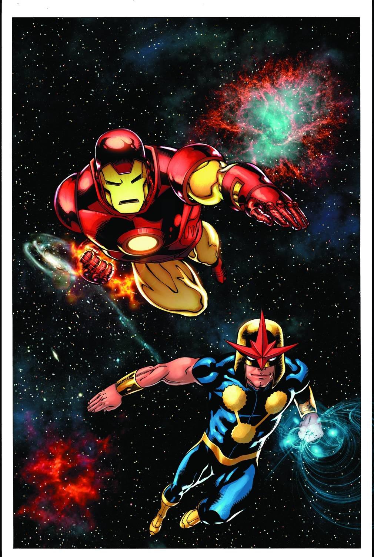Download Iron Man Nova (Free Comic Book Day) PDF