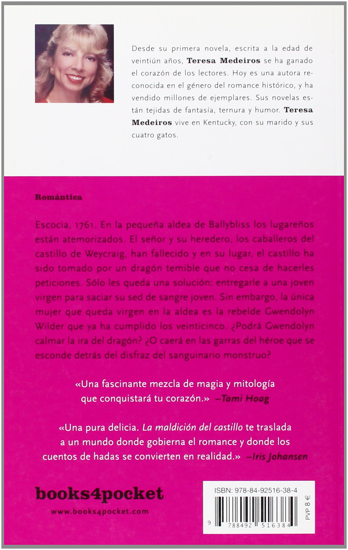 La maldicion del castillo (Books4pocket Romantica) (Spanish Edition): Medeiros, Teresa: 9788492516384: Amazon.com: Books