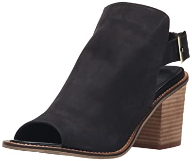 Chinese Laundry Women's Caleb Heeled Sandal, Black Leather, ...